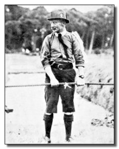 Baden Powell at Camp