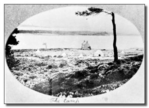 Postcard of the Campsite