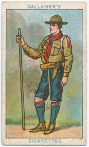 Gallahers - The Boy Scout - Card 1 of 100