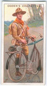 Odgens - A Scout Cyclist -Card No 4 of 50